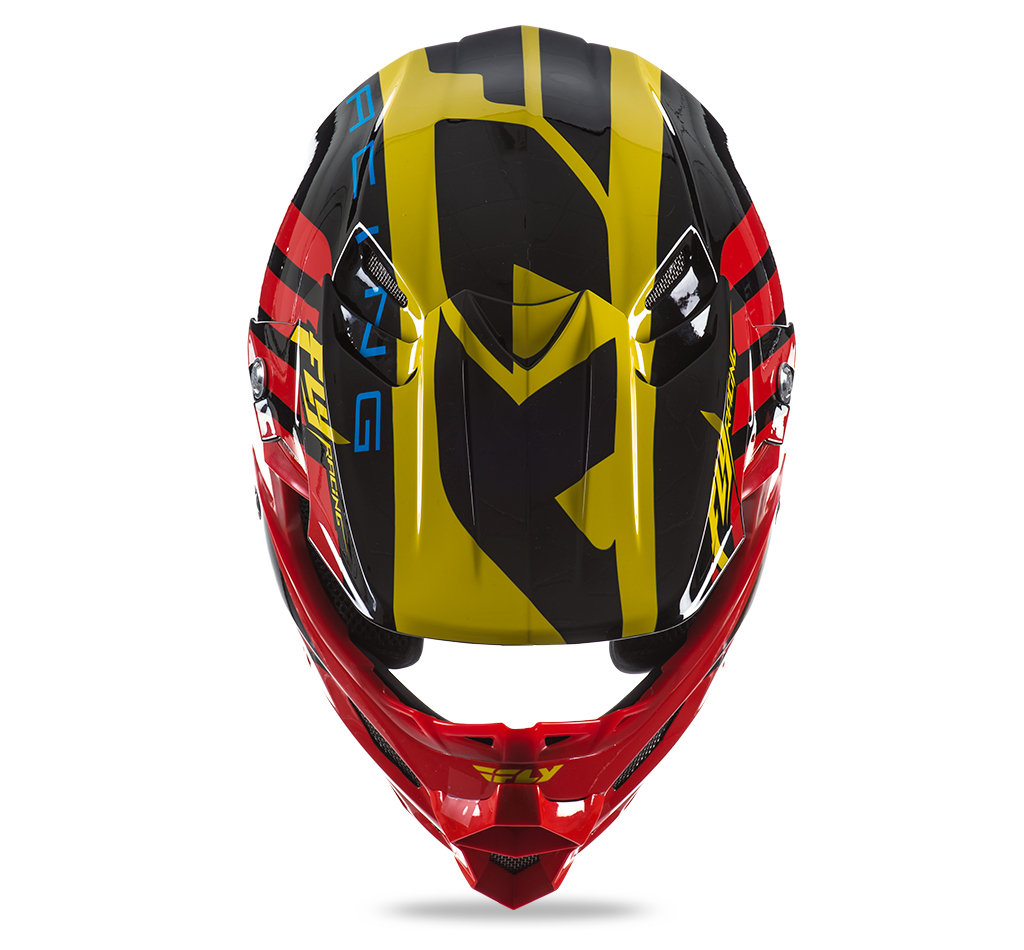 Casco Fly F2 zoom -Carbono